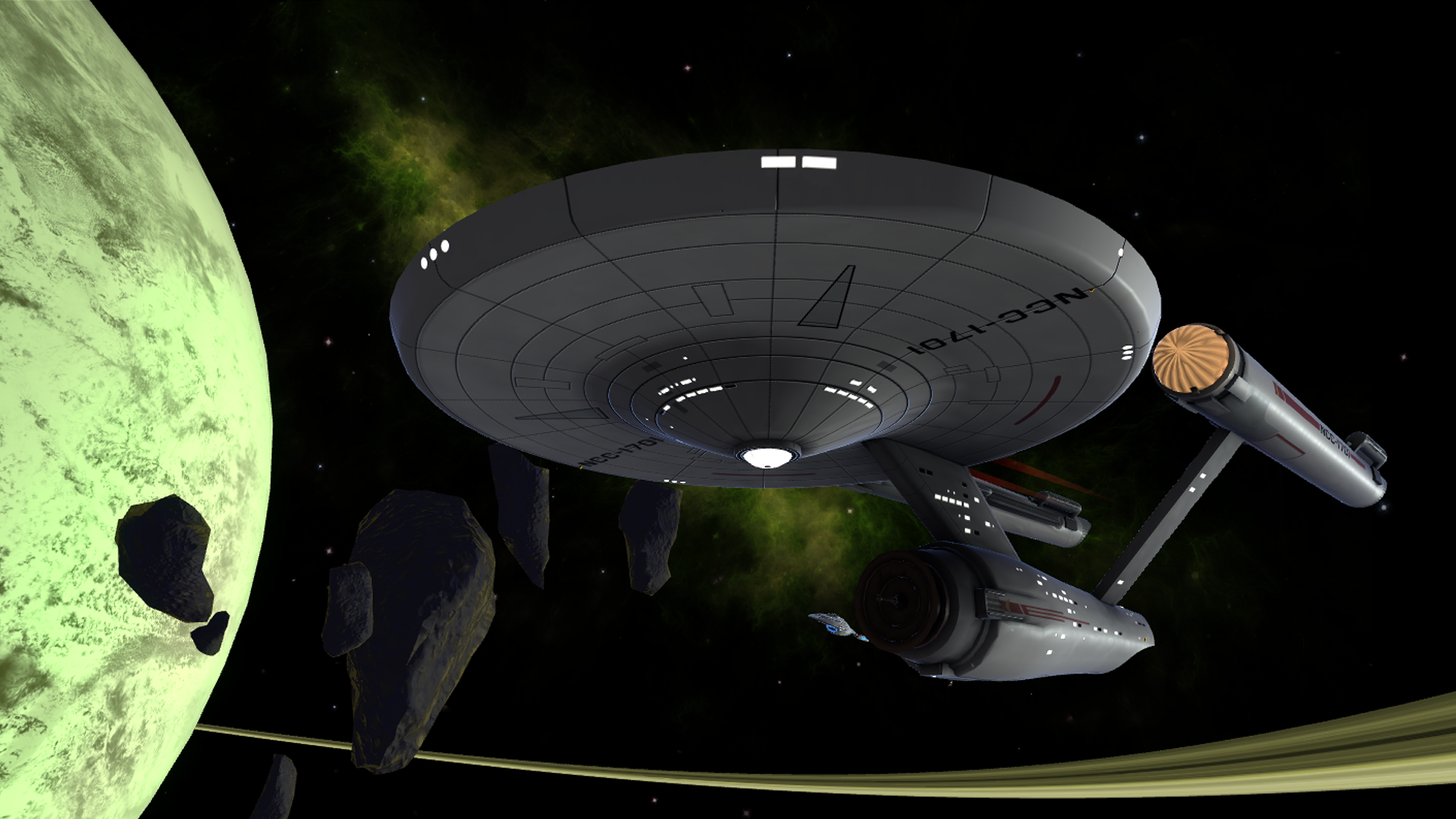 The Constitution Class ship